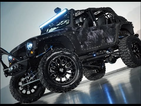 2014 Lifted Jeep Wrangler Unlimited Nightstalker Kryptek Typhon