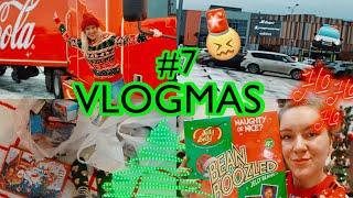 VLOGMAS 7 ПОПАЛИ В ДТП Новогодний Караван Coca Cola Шоппинг в Фикс Прайс Bean Boozled Календарь