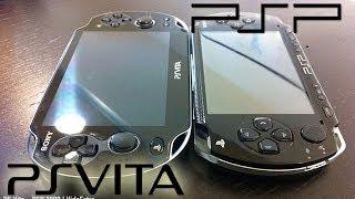 Comparacion Ps Vita(1000) Vs Psp(2000) Diferencias HD