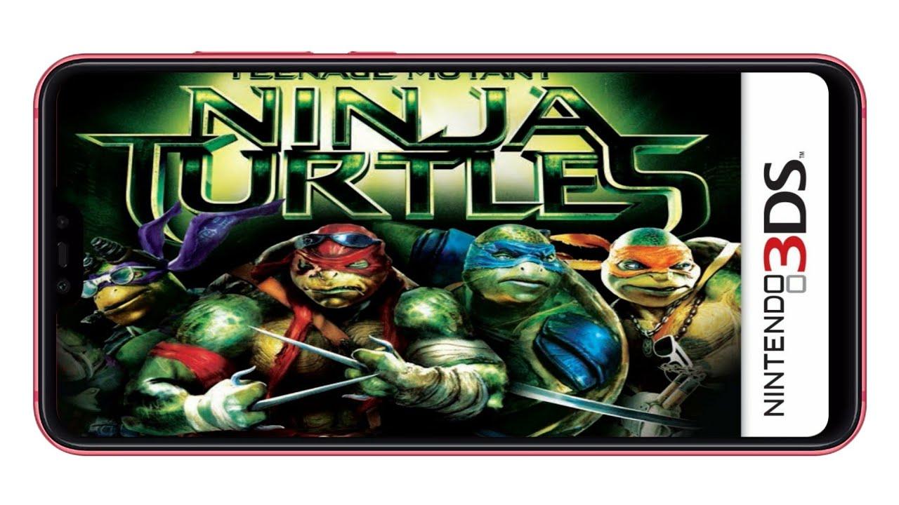 Nintendo 3ds Game Teenage Mutant Ninja Turtles - The Movie ...