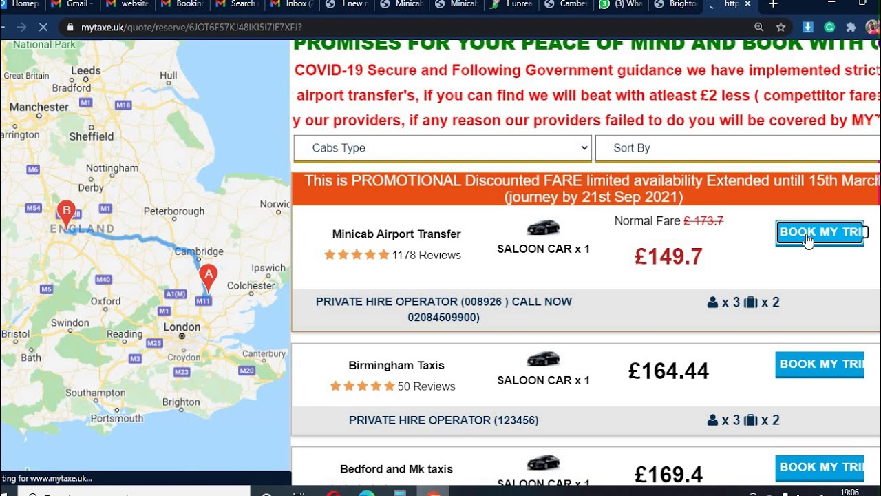 Cheap Taxi booking stansted to Birmingham