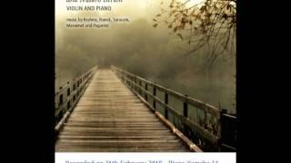 "J. Massenet - Meditation from ""Thais"", violin Lucia Luque - piano Mauro Bertoli"