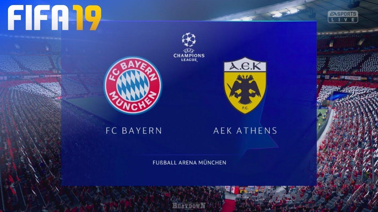 FIFA 19 - FC Bayern München vs...