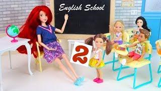 Я Тут Більше НЕ ХОЧУ Вчитися! Катя в Англійській Школі Мультик Ляльки Барбі Для дівчаток IkuklaTV