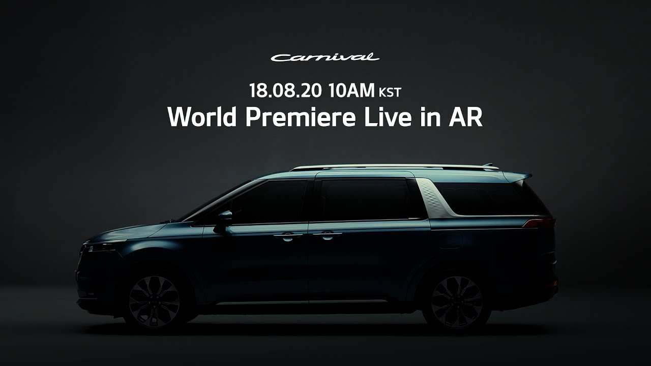 Look forward to the All-New KIA Carnival