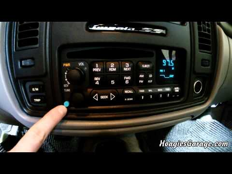 1Factory Radio Bluetooth System Installed In 1996 Chevrolet Impala SS - GM Factory Radio