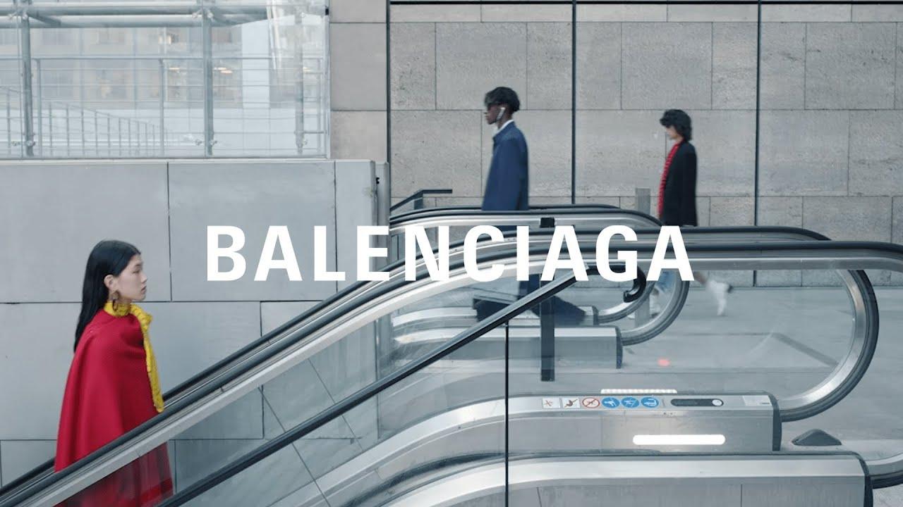 suunnittelija muoti uusi halpa huippumuoti Balenciaga Fall 19 Campaign