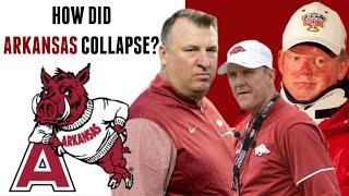 How Arkansas Razorbacks football collapsed