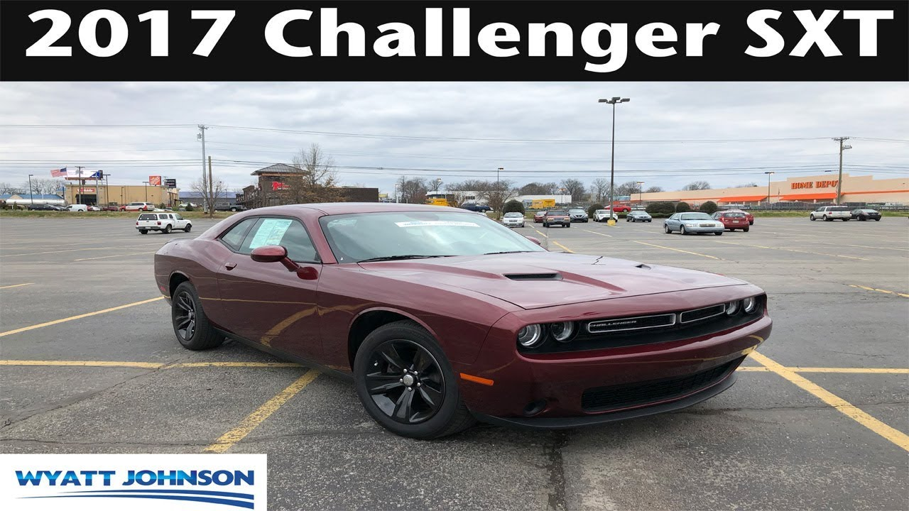 2017 Dodge Challenger Sxt Review Youtube