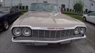 1964 Chevy Impala SS Two Door Hardtop Sand Eustis100717