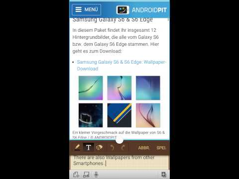 How to download the Wallpaper of Samsung Galaxy S6