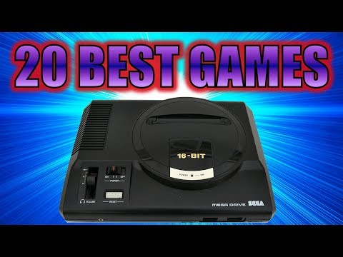 20 BEST GAMES of Mega Drive / Genesis (Top 20)