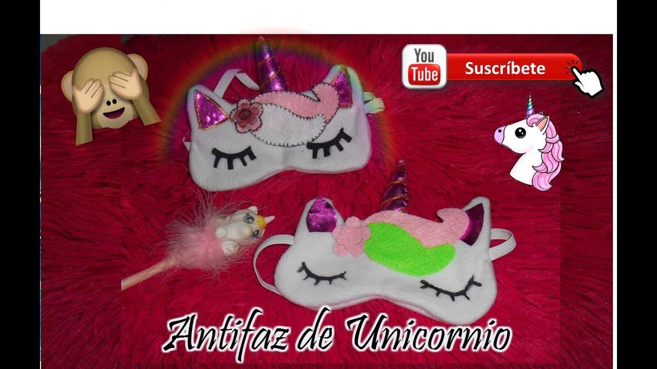 Antifaz Para Dormir De Unicorniodiy