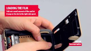 Fisheye One - How To Load Film And Batteries