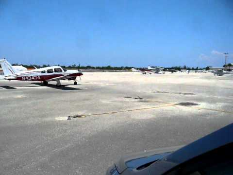 Arriving back at Lantana Airport