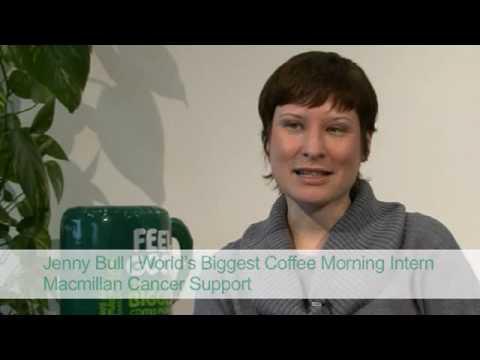 Jenny Bull - Macmillan World's Biggest Coffee Morn...
