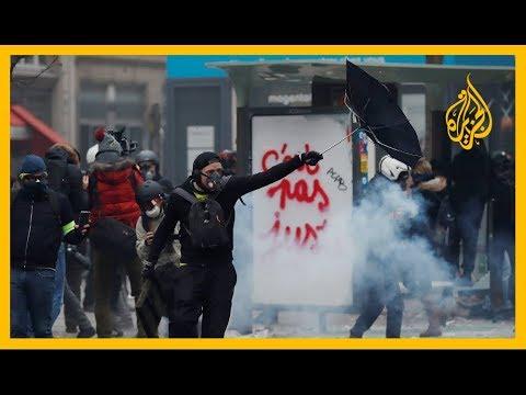 ???? لليوم الثامن على التوالي.. الاحتجاجات مستمرة بفرنسا ضد قانون التقاعد الجديد  - نشر قبل 31 دقيقة