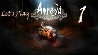 Let's Play Amnesia: A Machine For Pigs [PC] [HD] [Gameplay/Walkthrough] Part 1: The Beginning