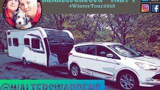 Knaresborough Caravan and Motorhome Club - Part 1 #WinterTour2018