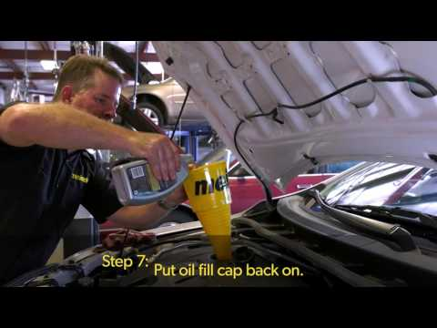 Meineke How-To: Changing Oil