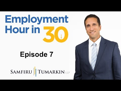 Employment Hour in 30: Episode 7