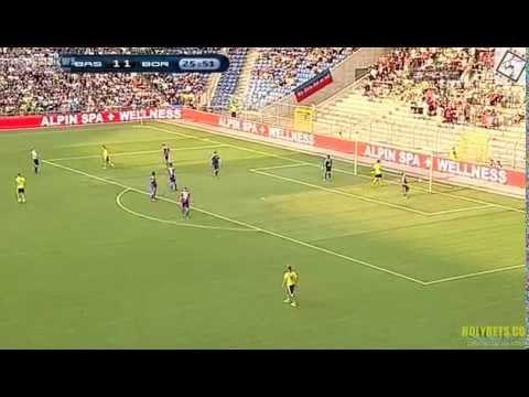 Первый гол+пас Генриха Мхитаряна в дебютном матче за Боруссию Дортмунд