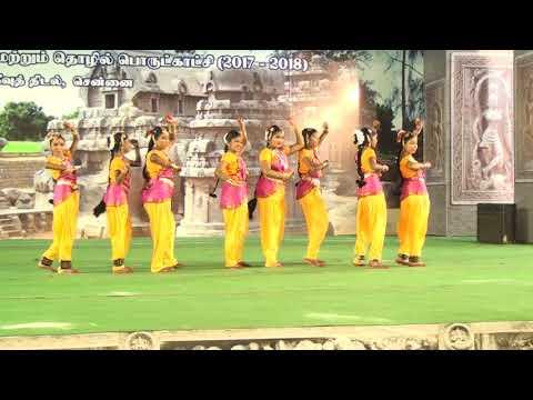 Folk Dance Thithimi thimi by Bhuvanasree Natyalaya