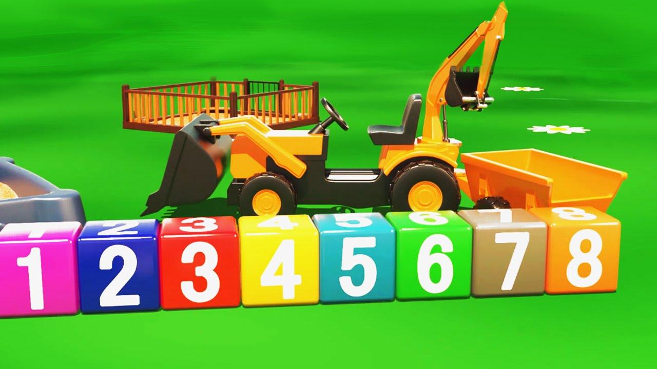 Très Cartoni animati per bambini | Al parco giochi: il bulldozer  EX93