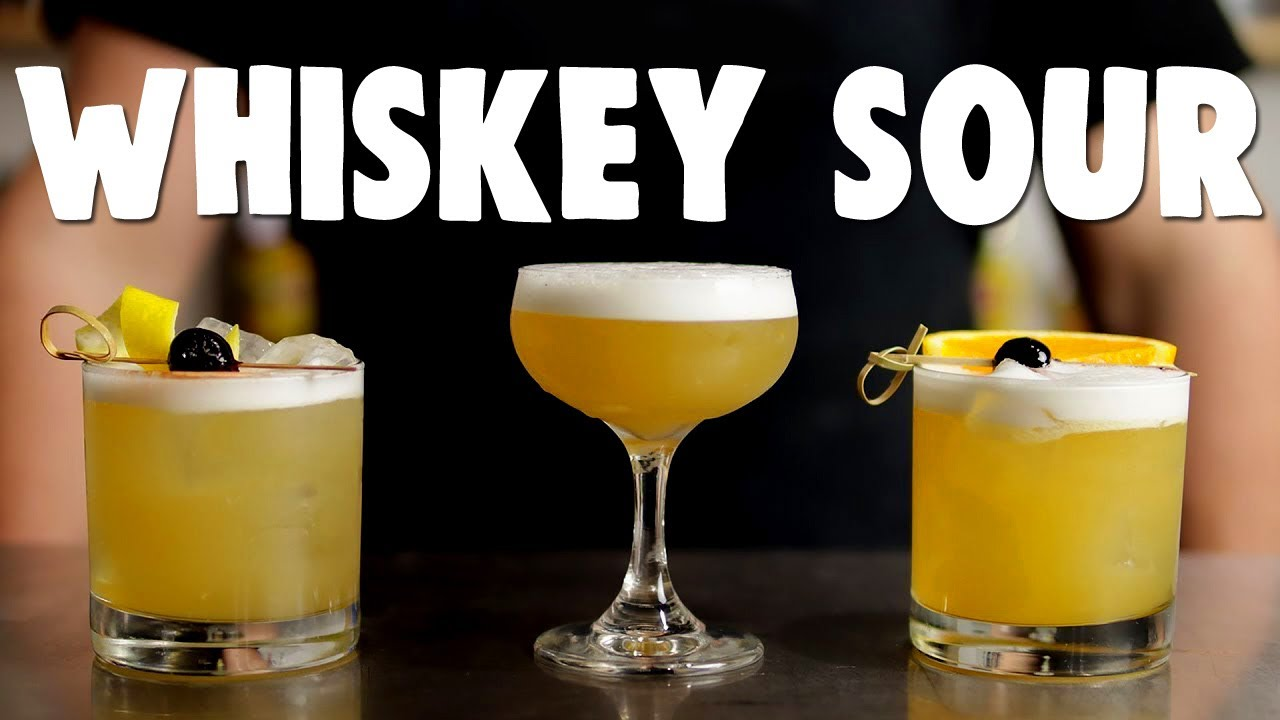The BEST WHISKEY SOUR Recipes! (Top 8)