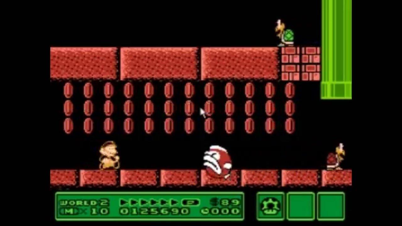 Super Mario Bros 3 Level - Big Bertha's Dungeon - YouTube