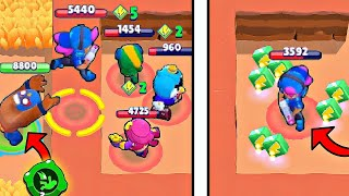 300 IQ *GADGET* TROLL vs -10 IQ in Brawl Stars! Wins & Fails #121