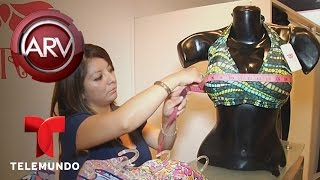 Al Rojo Vivo | Venden sostenes exclusivos para mujeres con gran busto | Telemundo ARV