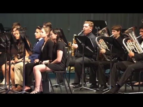 GHS Band Spring Concert 2016 Performance 5: Acrostic Song