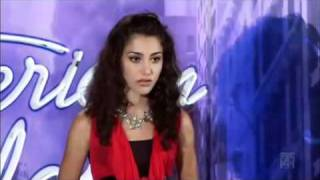 Melinda Ademi American Idol 2011 Ep 01 New Jersey Audition