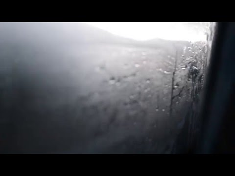 El camino hacia Cafayate. Era una fría Argentina.