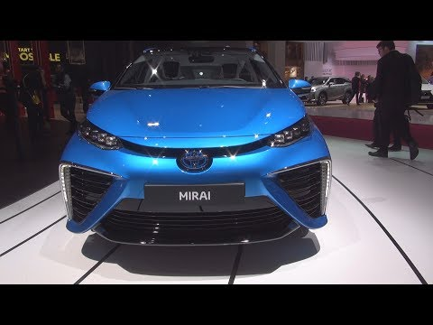 Toyota Mirai Fuel Cell (2019) Exterior and Interior