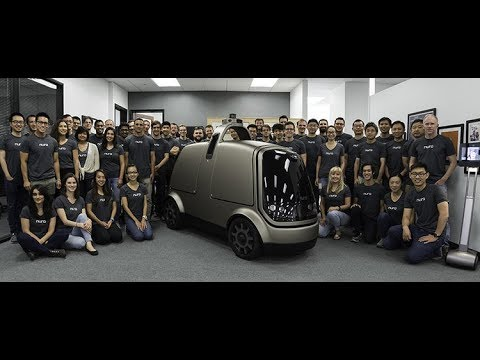 Latest Autonomous Car | 2018 | Nuro car | Self-driving car by two Ex-Google Engineers
