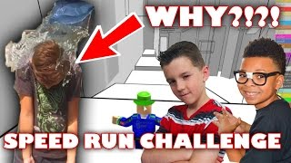Roblox Speed Run Challenge OR Ice Bucket Challenge? | Collab with GamerBoy JJM and VitaBoy TV