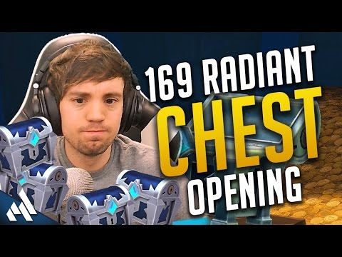 169 Radiant Chest Opening + A boat ton of Essence! | Paladin Chests