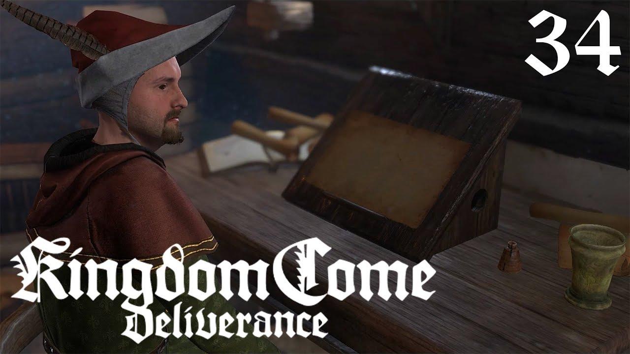 Let S Play Kingdom Come Deliverance 34 Lesen Lernen In Uschitze Deutsch German Omu