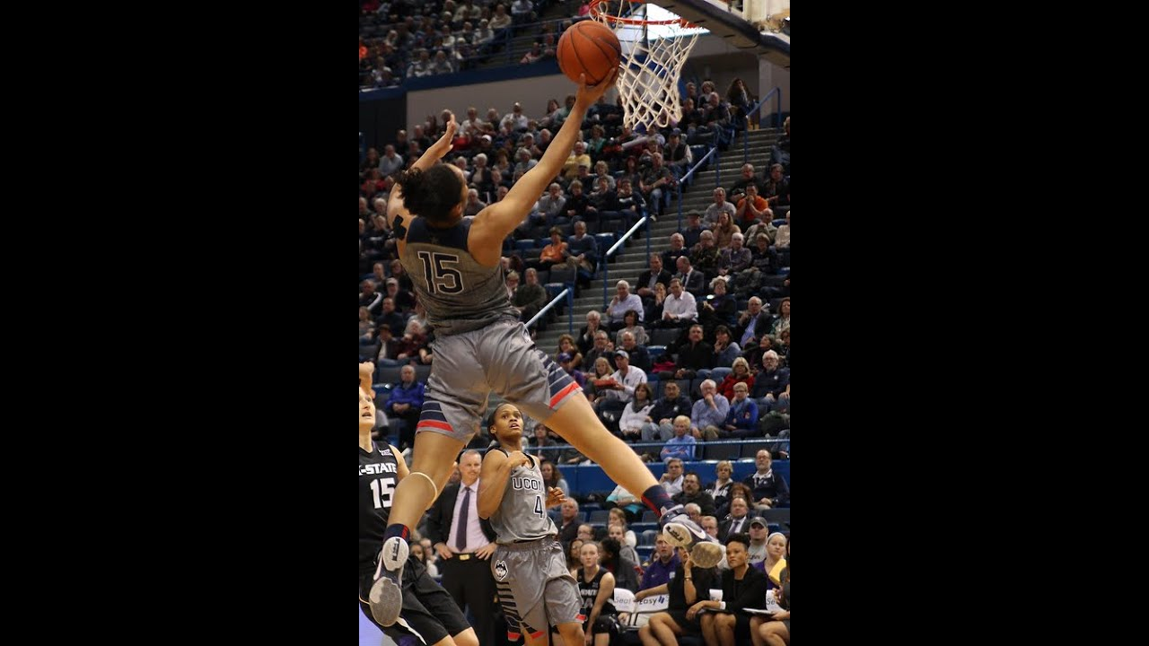 UConn's Gabby Williams Most Athletic Player In a Long Time - YouTube
