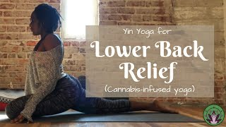 Yin Yoga For Lower Back Relief (Cannabis-enhanced Yoga)