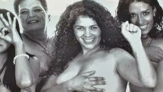 Mexican congressional candidate Natalia Juarez strips off for votes