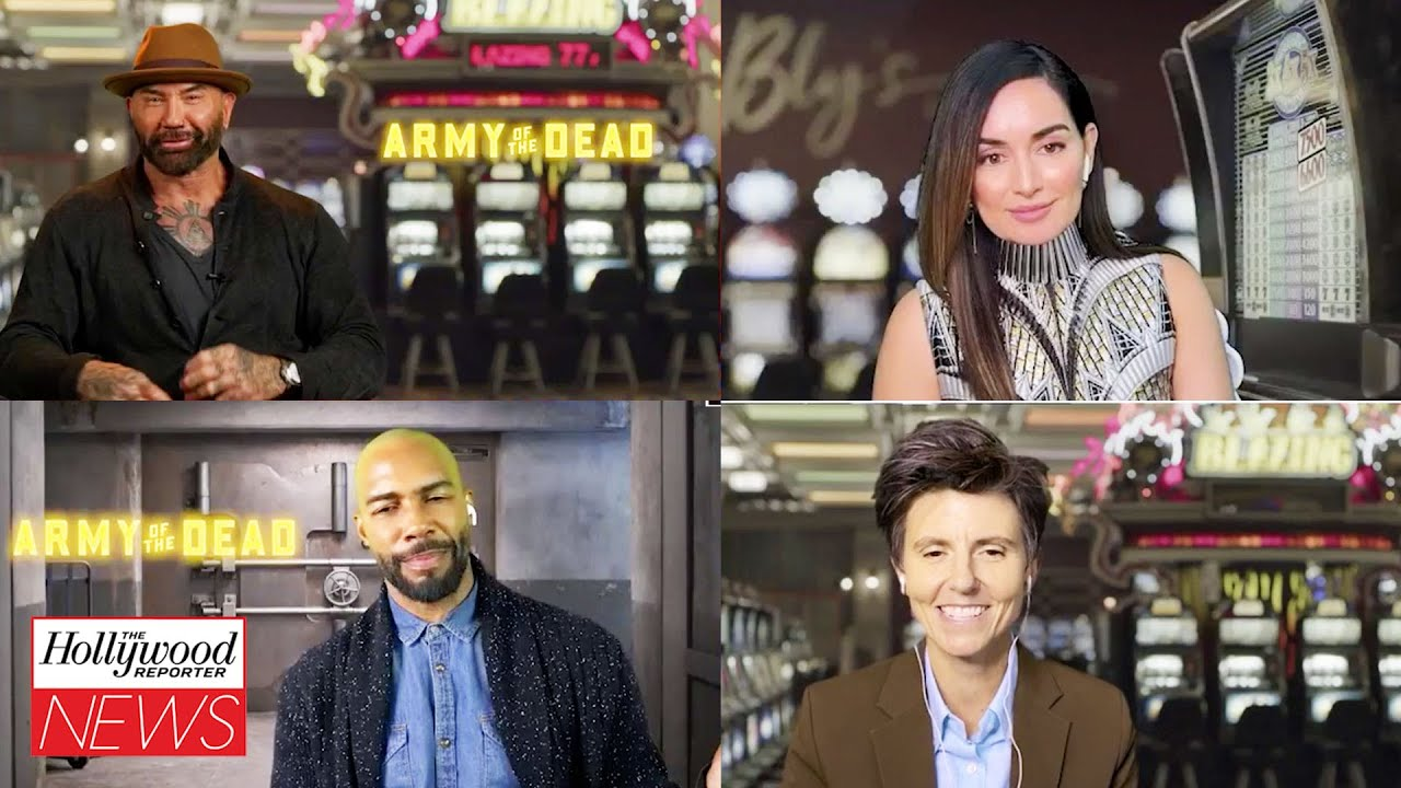 'Army of the Dead' Cast Interview: Dave Bautista, Tig Notaro & More I THR Interview