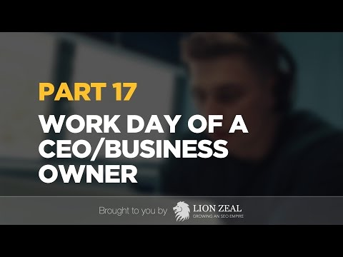 Digital Marketing CEO Daily Life