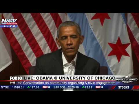 LIVE: Obama's First Event Since Leaving Office; President Trump's NASA Phone Call;  Spicer Briefing