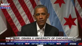 MUST WATCH: President Obama's First Speech Since Leaving Office - University of Chicago (FNN)