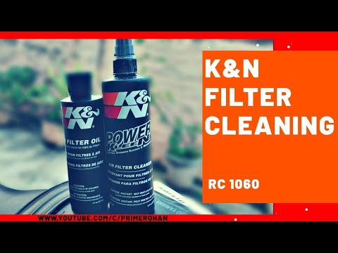 How to clean_ |k&n-filter| |rc-1060|