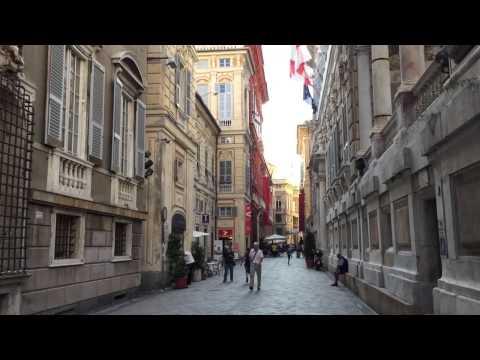 Genoa, Liguria. Exploring the City.
