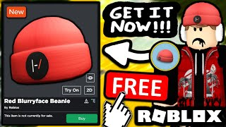 FREE ACCESSORY! HOW TΟ GET Red Blurryface Beanie! (ROBLOX TWENTY ONE PILOTS EVENT)